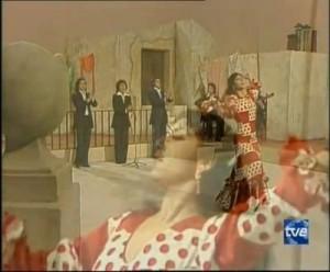 Recherche: Tupfen auf Flamencokleidung im Video