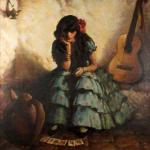 """La buena ventura"", Charles Percy Austin, 1927 - Flamenco Empirico Home Edition 2013"