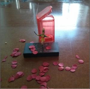 """Anja Abels verwendet die Edition """"mini"""" von Flamenco to Take Away"""