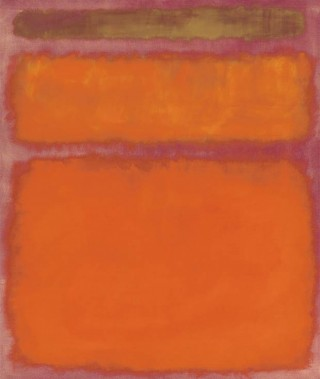 Mark Rothko - Orange, Red, Yellow.
