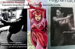 Flyer der Ausstellung, Mercat de les Flors, Barcelona. 2012