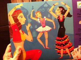 Tanzpuppen aus Papier