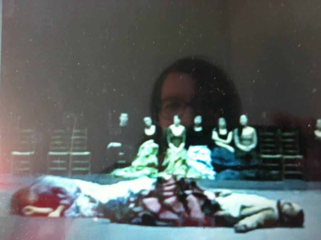 Foto Flamencoperformance duo mit Julia Petschinka und Ivan Gongora in Barcelona beim Festival Flamenco Empirico