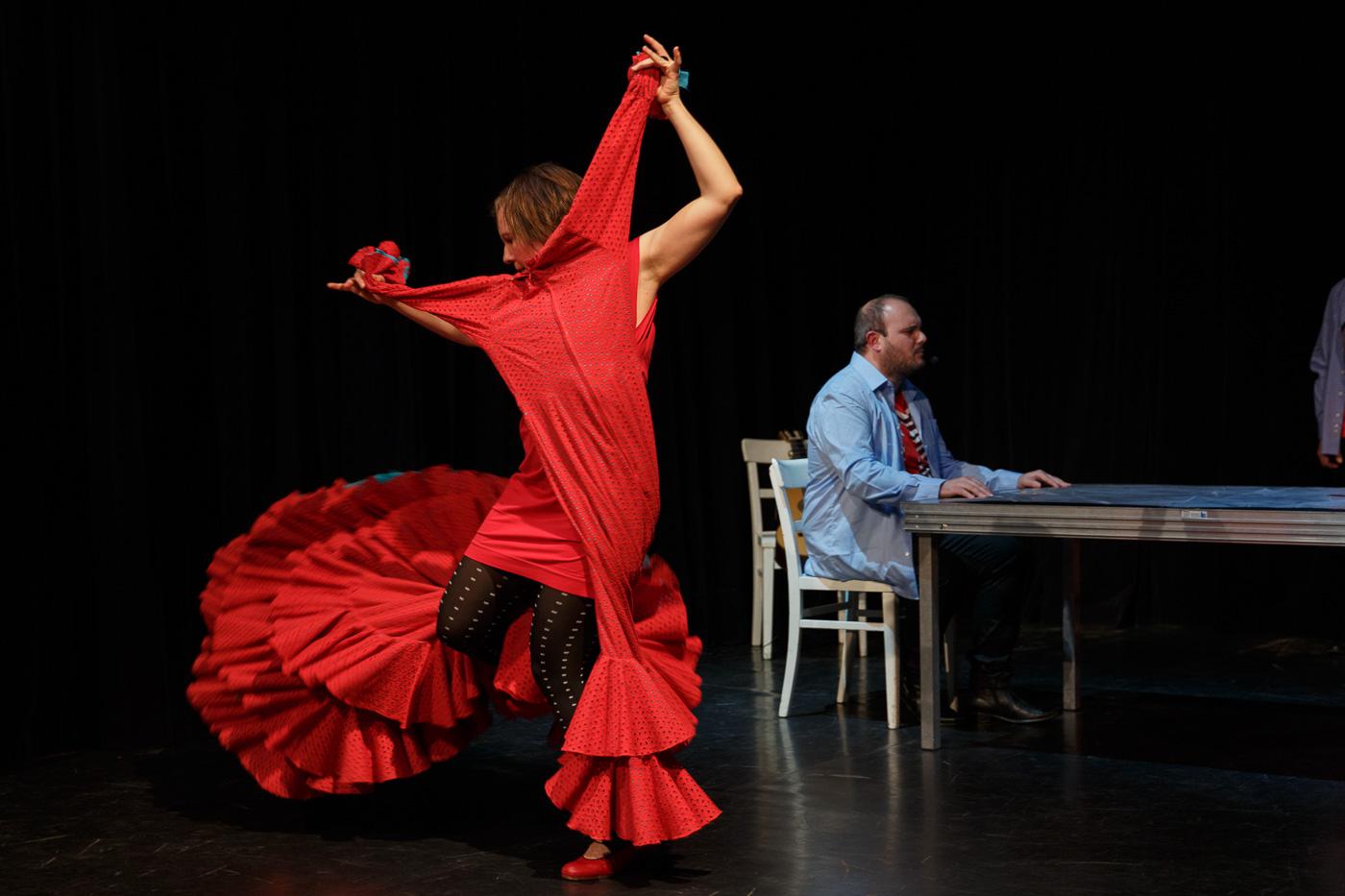 Foto Flamencotaenzerin Julia Petschinka_Flamencosaenger Paco Contreras_Foto von Daniel Karsch
