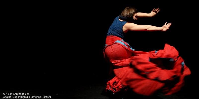 Foto der Flamencoperformance nextduo von Julia Petschinka in Athen