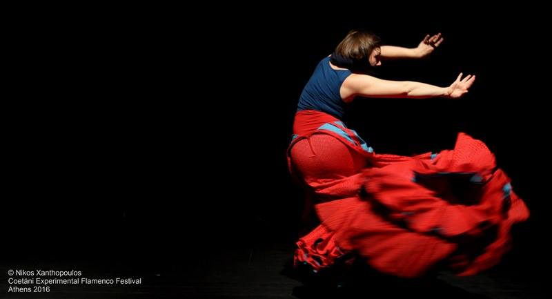 Foto der Flamencoperformance nextduo von Julia Petschinka in Athen