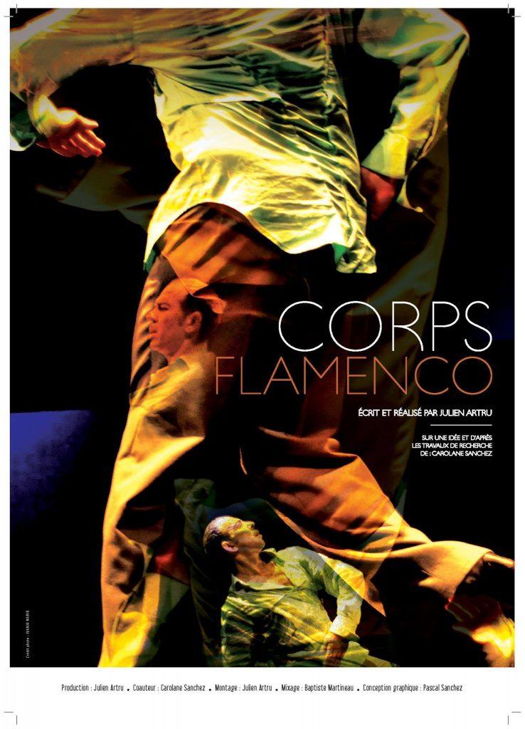 Filmplakat von Corps Flamenco von Julien Artru und Carolane Sanchez