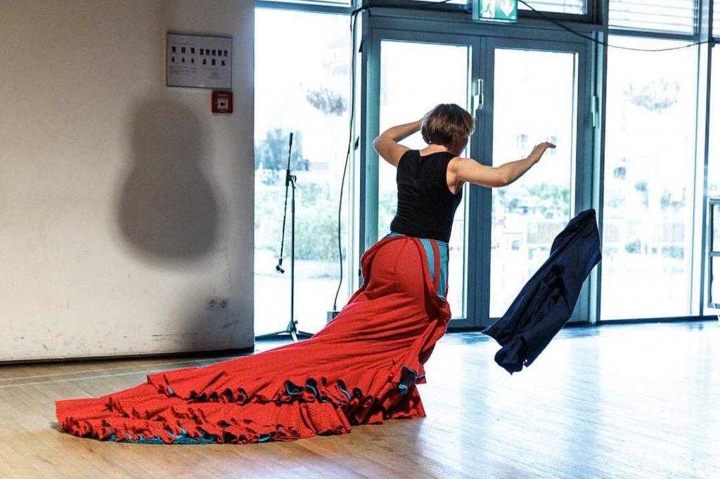 Foto Julia Petschinka mit nextduo beim Flamencofestival_Foto von Daniel Karsch