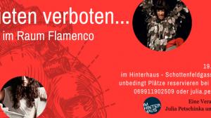 Collage der Veranstaltung Verbieten verboten Zeitgenössischer Flamenco