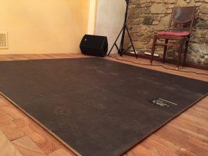 Mobiler Tanzboden für Flamenco