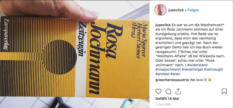 Rosa Jochmann - Zeitzeugin