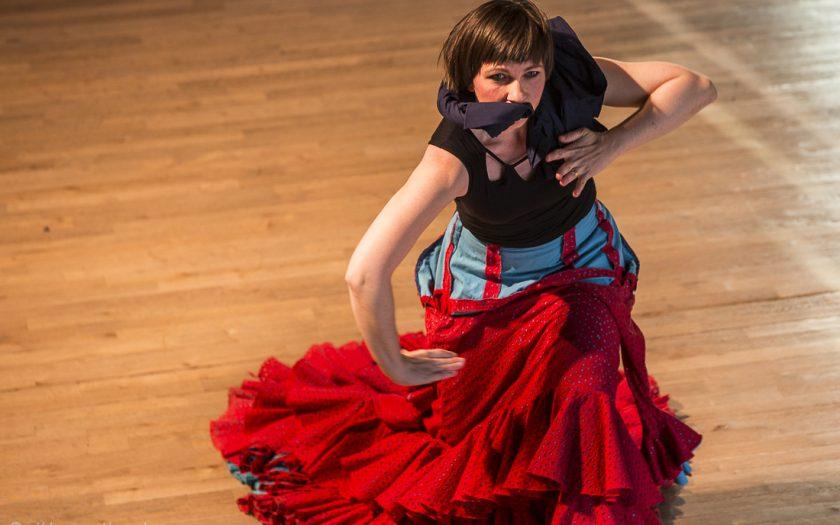 Tanzfoto von Klaus Handner Flamenco