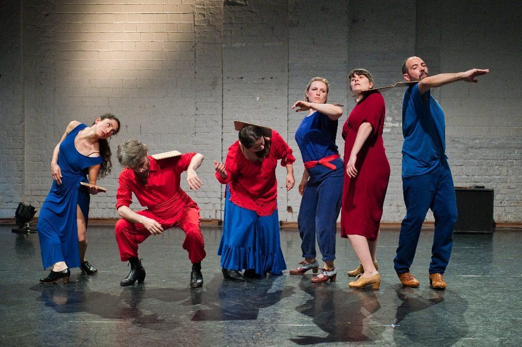 Foto von Projekt 12 beim Flamencofestival im tanzhaus nrw - Foto von Peter Martin