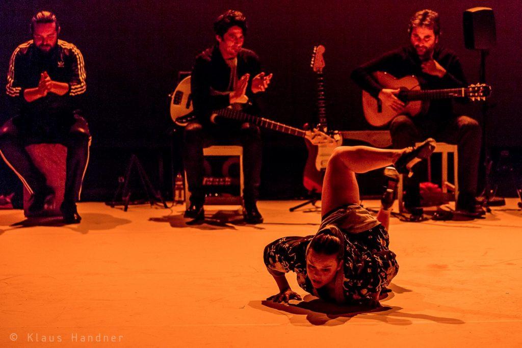 Rocio Molina in Caida del Cielo beim Flamencofestival 2019 im tanzhaus nrw