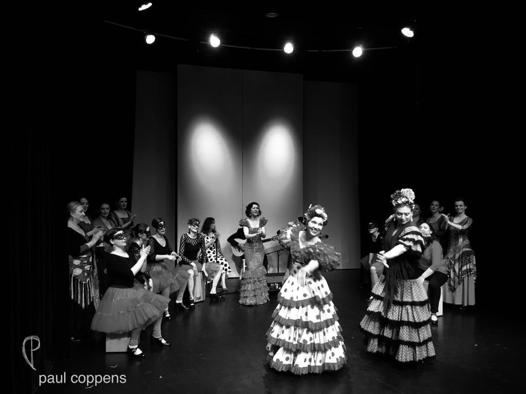 Finale La Vida Flamenca Foto von Paul Coppens