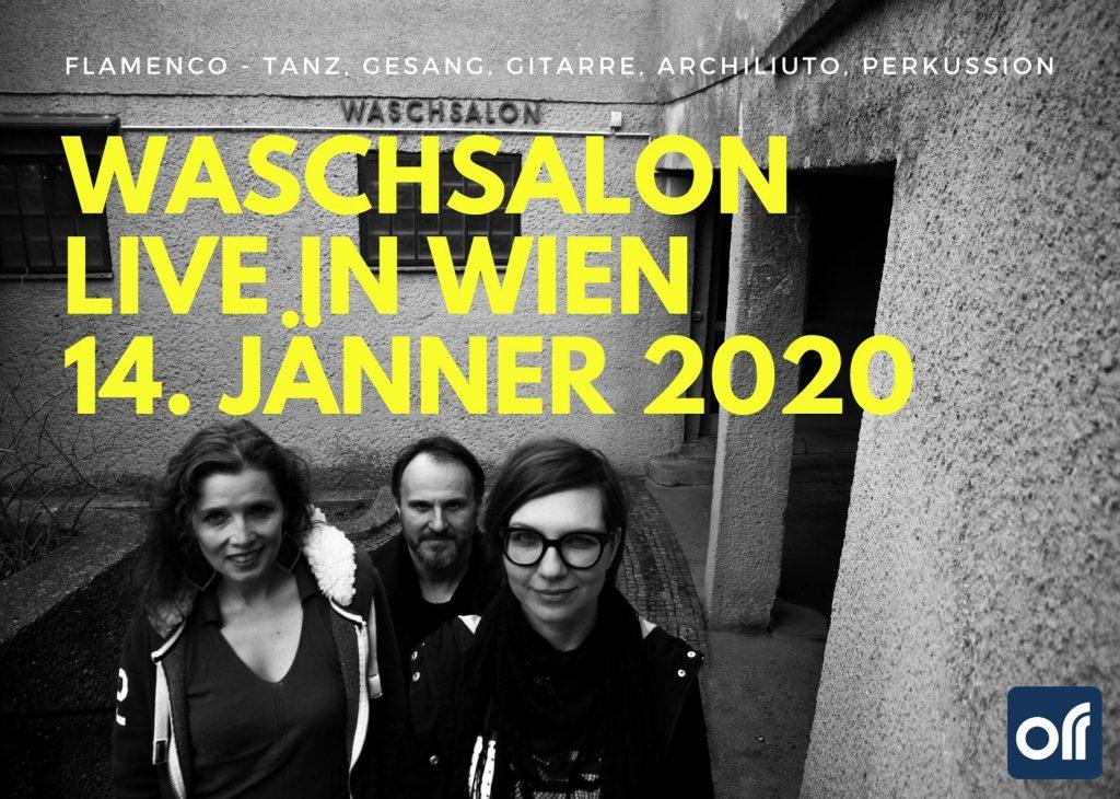 Waschsalon - live in Wien am 14 Jaenner 2020